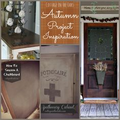 Autumn Decor Project Inspiration #diy #autumn