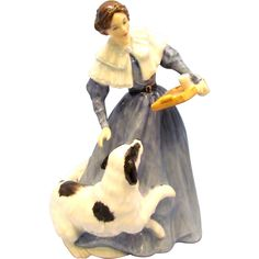 Royal Doulton LE Jane Eyre Literary Heroines Figurine Available from the Old Stone Mansion on Ruby Lane