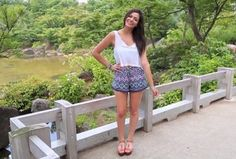 I love Bethany Mota's style. Her Japan Trip ! Gorgeous!!♡