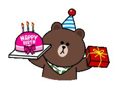 The perfect HappyBirthday Brown Cony Animated GIF for your conversation. Discover and Share the best GIFs on Tenor. Cute Happy Birthday Wishes, Happy Birthday Balloons, Birthday Greetings, Birthday Surprises, Cute Love Gif, Cute Love Memes, Animated Smiley Faces, Cony Brown, Birthday Cartoon