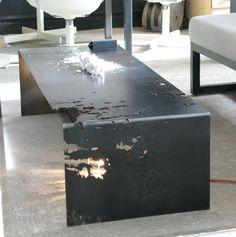 Commute Home laser cut sheet steel coffee table