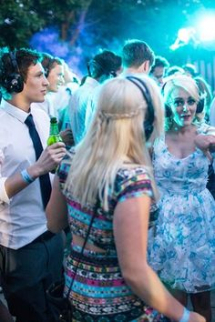 Silent Disco Wedding Entertainment (BridesMagazine.co.uk) (BridesMagazine.co.uk)