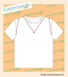Mais ideias para quem quer customizar camiseta: 9 tipos de cortes para transformar uma camiseta e deixá-la diferente.