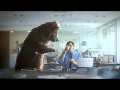 Film advertisement created by VCCP, United Kingdom for Müller, within the category: Food. Tv Ads, Creative Advertising, My Favorite Music, Make Me Smile, More Fun, Lion Sculpture, Commercial, Bear, Humor