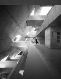 Juego de luces #estructuras #hormigon #structure #concrete
