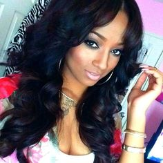 synthetic lace front wigs for black women