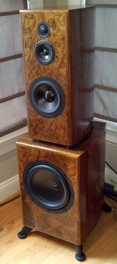 Diy Speakers With Odyssey Dual Mono Stratos Tempest 1