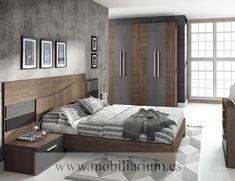 Dormitorios Modernos Lanmobel - Composición 20 Cabecero Ondas - Catálogo Muse - Mobiliarium