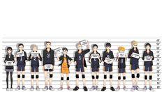 Anime Haikyū!!  Wallpaper