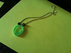 Quilling necklace ...
