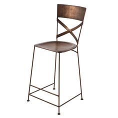 Found it at Wayfair - X-Back Counter Stool
