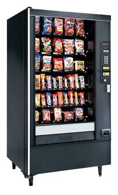 I've been wanting to get a vending machine at my work.  I think having a vending machine would be a good, especially because people have been asking for one.  I'll look into getting one soon so that people can finally have the snacks they want.