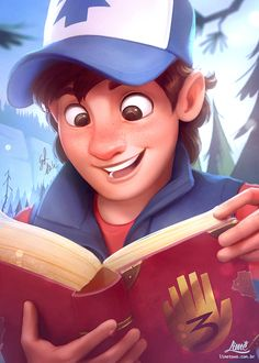 Gravity Falls Portraits on Behance