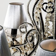 Love the swirls and pearls.    tinaschoices.tumblr.com