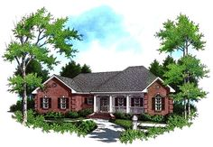 This 1 story Colonial features 1751 sq feet. Call us at 866-214-2242 to talk to a House Plan Specialist about your future dream home!