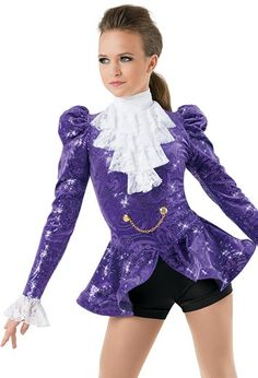 My jazz production costume for 'Prince' Medley 2016-2017