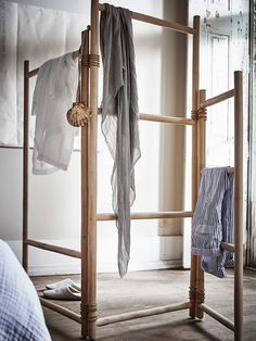 Eco-Chic: 6 Favorite Finds from Ikea's April Collections (Remodelista: Sourcebook for the Considered Home) Rattan Armchair, Rattan Furniture, Open Wardrobe, Wardrobe Rack, Ikea New, Higher Design, Summer Aesthetic, Home And Deco, Clothes Stand