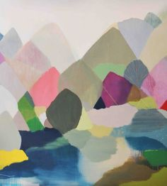 BELYNDA HENRY I love love love the beautiful colours she uses in her work.