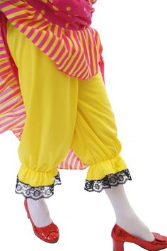 Traditional Victorian Raggy Doll Lace Bloomers Christmas Panto Fancy Dress