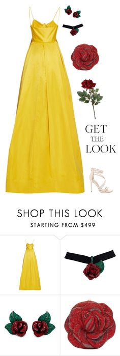 """Get the Belle's Look"" by anetacerna ❤ liked on Polyvore featuring Leal Daccarett, Judith Leiber and Steve Madden"