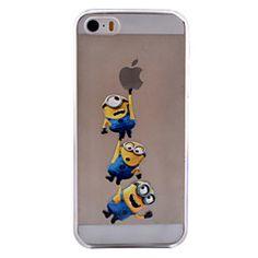 patrón de la gente de color amarillo TPU softphone para 5c iphone