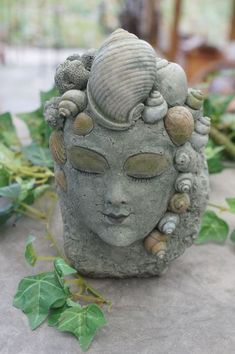 """Skulptur """"Wassergeist"""", Garten, Teich von Mandagora auf DaWanda.com"""