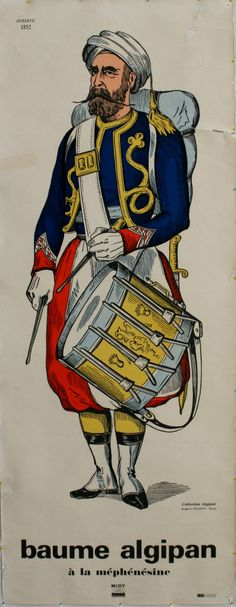 Military Costume of Zouave, 1852 -
