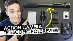 Action Camera Accessories - Camkix Premium 3in1 Telescopic Pole Review