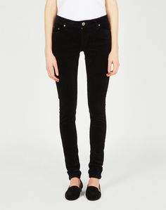 i would love black skinnies