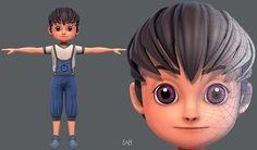 Base BoyV05 Clothing V01 | 3D model Character Creation, 3d Character, Cg Artist, 3d Projects, 3d Animation, Maya, 3d Printing, Characters, Models