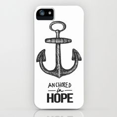 Anchored iPhone Case by Dani Barrientos - $35.00
