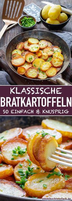 Classic fried potatoes - crispy and simple - easy to cook cauliflower auflauf rezept pizza recipes salad cauliflower Clean Eating Quotes, Eating Habits, Clean Eating Meal Plan, Eating Plans, Serious Eats, Veggie Recipes, Vegetarian Recipes, Salad Recipes, Clean Eating Recipes