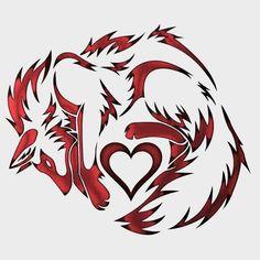 Los lobos no son malos si tu crees en la vida. Wolf Tattoo Design, Tribal Wolf Tattoo, Wolf Tattoos, Body Art Tattoos, Tribal Animal Tattoos, Tribal Animals, Tribal Drawings, Cute Animal Drawings, Cute Drawings