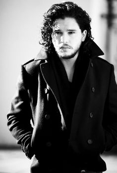Kit Harington - as himself. So apparently Jon Snow's constant expression of baffled dismay is just Kit's own face.