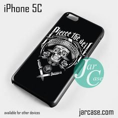 Pierce The Veil Skull Art Phone case for iPhone 5C and other iPhone devices