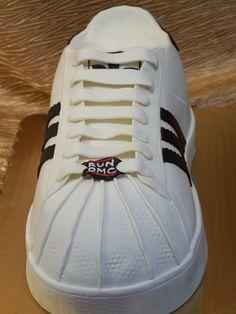 Adidas sneaker cake Dessert Works Bakery. Westwood, MA
