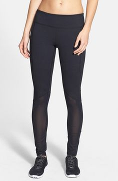 Free shipping and returns on Zella 'Double Dare' Leggings at Nordstrom.com. Stay cool and covered with smooth stretch leggings that marry the flexibility of compression knit on top with the breathability of powernet mesh encompassing the lower leg.