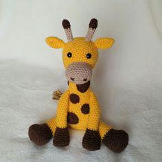 Geoff the Giraffe Crochet Pattern