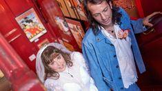 Lena Dunham & Luis Felber September 2021 Lena Dunham, Christopher Kane, London Wedding, Chuppah, Female Friends, John Lennon, Blue Suede, A Good Man, Got Married