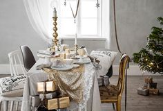 Holiday Home: Glitter and Glam via skimbacolifestyle