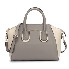 [$68.99]Michael Kors Logo Matching Large Grey Totes | See more about fashion icons, michael kors and grey.