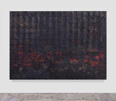 quivira, 2015 aluminum foil, aluminum coating and oil paint on tar paper 84 x 118 x 2 inches x x cm) Artist: Hugo McCloud. Red Beard, Multimedia Artist, Egyptian Art, Art Model, Urban Landscape, Islamic Art, Metropolitan Museum, Bronze, Abstract
