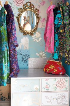quirky wardrobe idea house and home funky home decor clothing storage closet designs