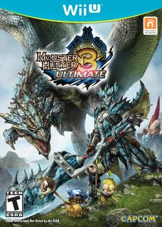 MH3U Wii U box art.