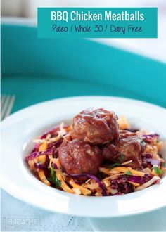 These are the best Whole 30 BBQ Chicken Meatballs out there! Healthy and delicious, you can eat them guilt free! Paleo Source by sevi. Best Keto Meals, Best Low Carb Recipes, Low Carb Chicken Recipes, Whole 30 Recipes, Paleo Recipes, Paleo Menu, Keto Foods, Diet Meals, Ketogenic Recipes