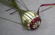 Weaving Ribbons & Lavender Ornament