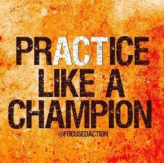 Practice Like a Champion http://adamantineyoga.com/