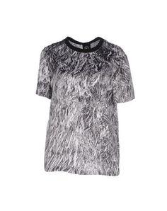 MCQ ALEXANDER MCQUEEN Silk Top. #mcqalexandermcqueen #cloth #dress #top #skirt #pant #coat #jacket #jecket #beachwear #