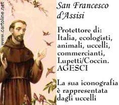 4 ottobre onomastico San Francesco d'Assisi