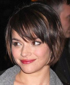 CHIC BOB Short Hairstyles For Round Faces